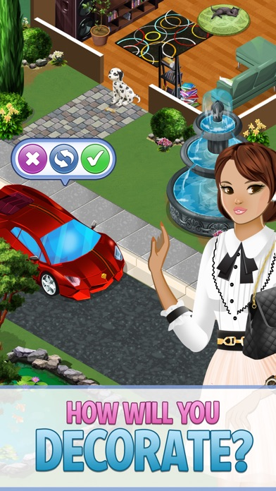 Screenshots of Campus Life™: Fashion Girl for iPhone