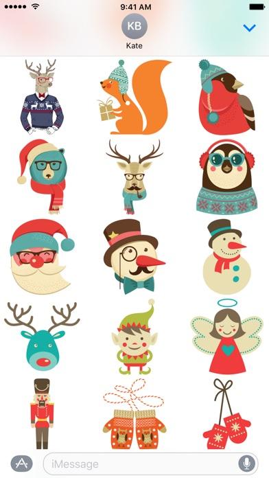 С Рождеством Христовым - СтикерыСкриншоты 2