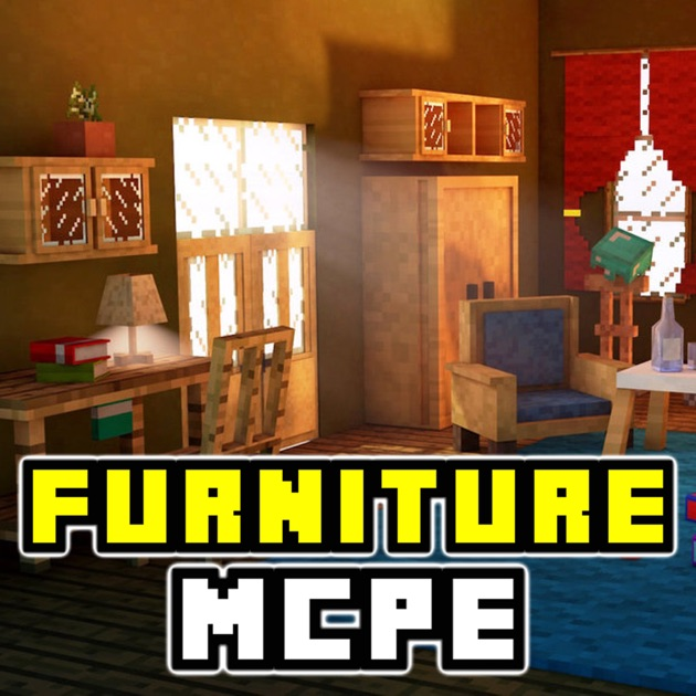 Furniture pe for minecraft pocket edition add ons on the Furniture app