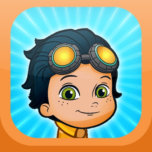 Rusty Gravity Rivets Pogo Adventure For Kids iOS App