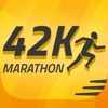 Marathon training, 42K Runner: 26.2 mile run