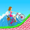 Biker Girl Hill Climb Cycling App