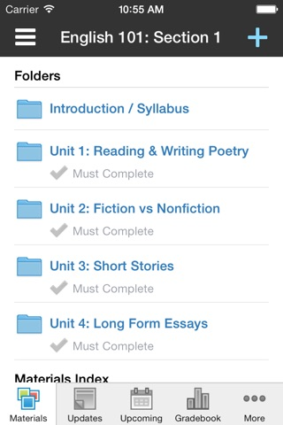 Schoology screenshot 2