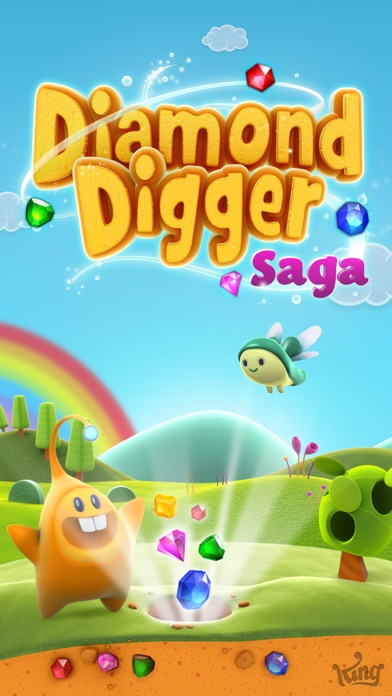 Screenshots of Diamond Digger Saga for iPhone