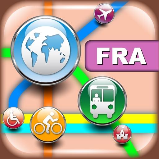法兰克福(德国)地图 – 下载地图和旅游指南
