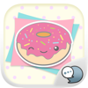 Pastel Emoji Stickers Keyboard Themes ChatStick
