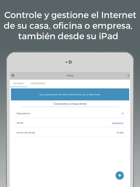 Captura de pantalla del iPad 1