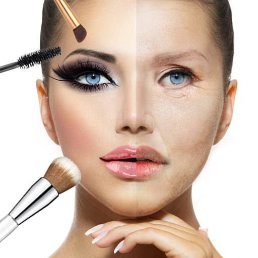 Makeup Face Retouch Beauty Salon Make over Game by Milivoje