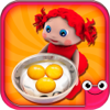 Toddler Kitchen Cooking Games-EduKitchen Girl Free