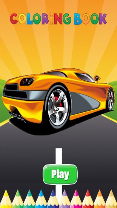 Luxury Car Coloring Book