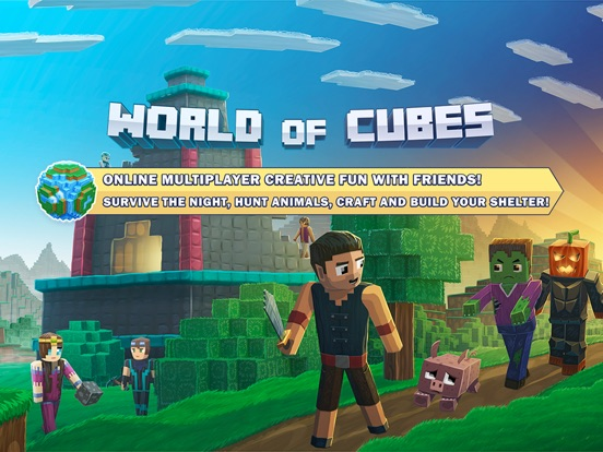 World of Cubes Survival Craft Screenshots