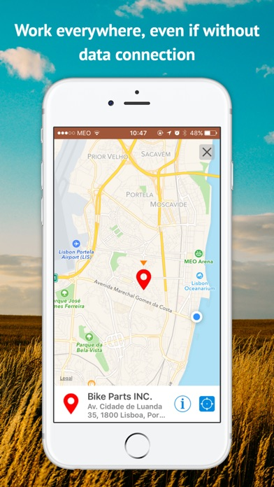 Screenshot of MOBIZY - App for Small Business5