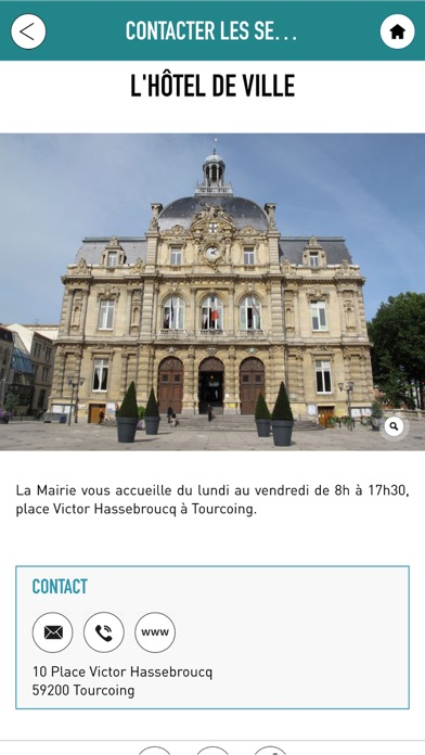 Tourcoing appliCapture d'écran de 2
