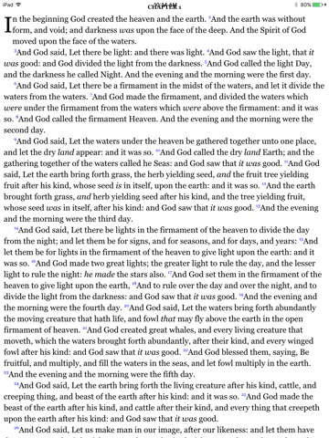 CCEL Devotional Bible screenshot 3
