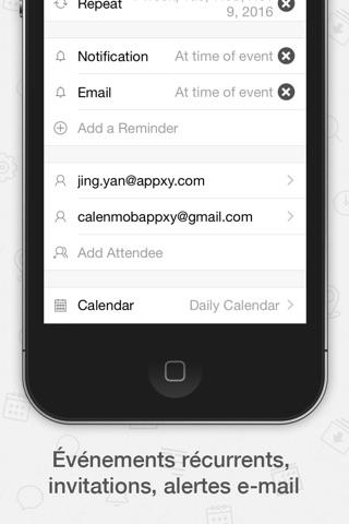Tiny Calendar Pro screenshot 4
