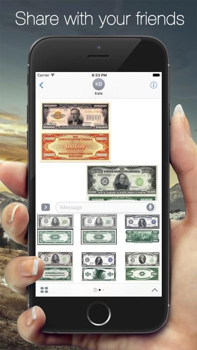Screenshot of Money Sticker2