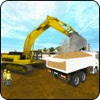 Real Excavator City Builder Game 3D complete