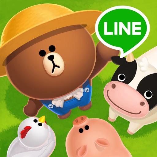LINE ブラウンファーム アイコン