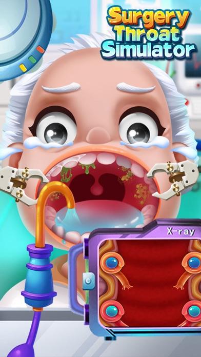 喉の手術シミュレータ - 無料ドクターゲームのスクリーンショット3