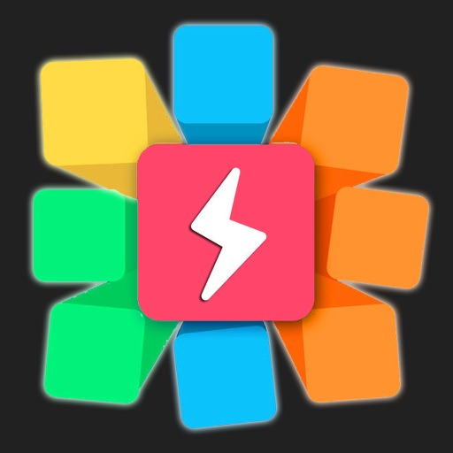 Cube Blitz, Sticky 16 Squares Space iOS App