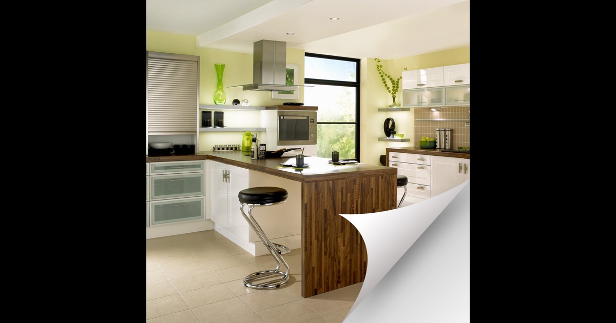 Kitchen design ideas 3d kitchen interior designs on the for Kitchen design app