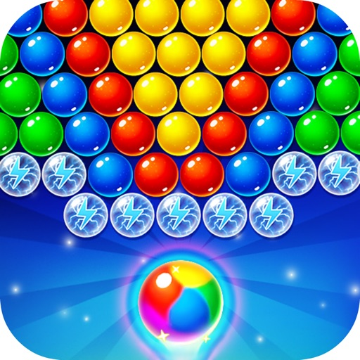 Bubble Moon Mania iOS App
