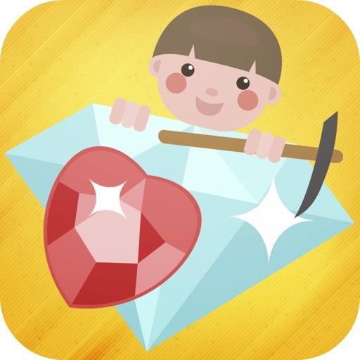 Tiny Diamond Mine iOS App