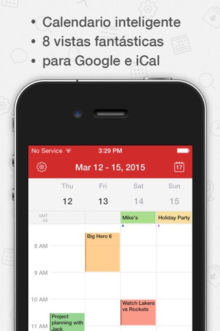 Tiny Calendar Pro screenshot 1