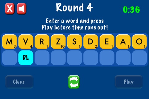 QuickWord - Word Game screenshot 1