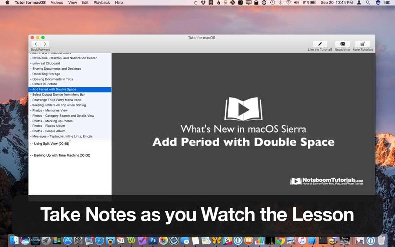 Tutor for Mac Screenshot - 5