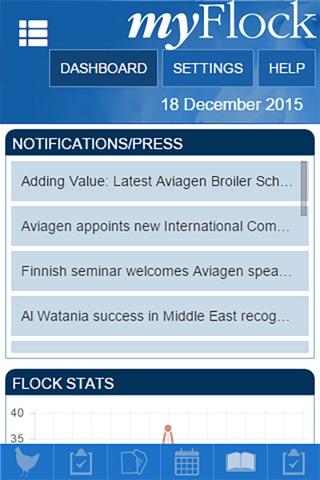 Aviagen MyFlock screenshot 4