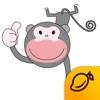 The love of Noblips - Mango Sticker sticker translator