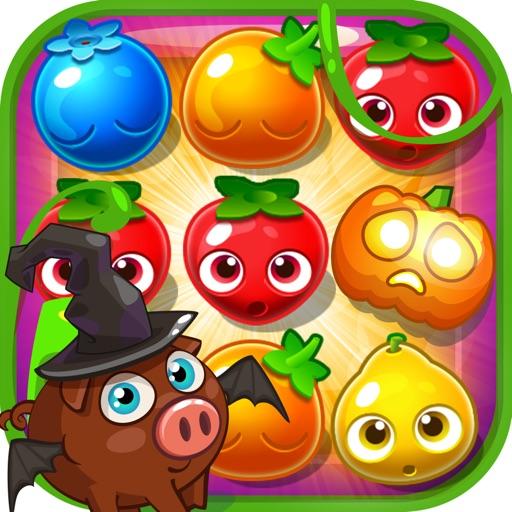Halloween Juice Fresh - Fruits Garden Jam iOS App