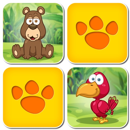 Animal Pairs: Free Matching Games for children iOS App