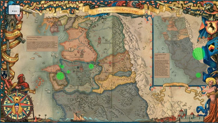 Map for The Witcher by Antonio Rodriguez Cia Sapkowski World Map on salem world map, tolkien world map, the witcher world map,