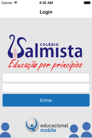 Salmista Mobile screenshot 1