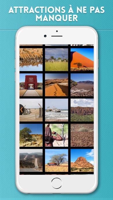 Namibie Guide de Voyage avec Carte OfflineCapture d'écran de 4