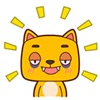 Adorable Yelly Cat Animated Stickers