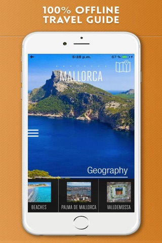 Mallorca Travel Guide and Offline City Map screenshot 1