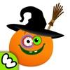 Хеллоуин - Смешная Еда! Анимированные стикеры