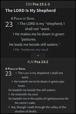 NKJV Bible by Olive Tree screenshot 3