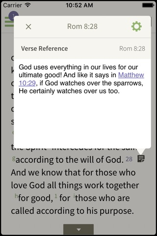 NKJV Bible by Olive Tree screenshot 2