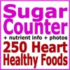 Sugar Counter plus 250 Heart Healthy Foods