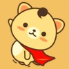 Peanut Dog Collage - Christmas and New Year Emoji