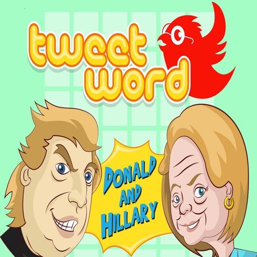Donald & Hillary Daily Tweetword Puzzle iOS App