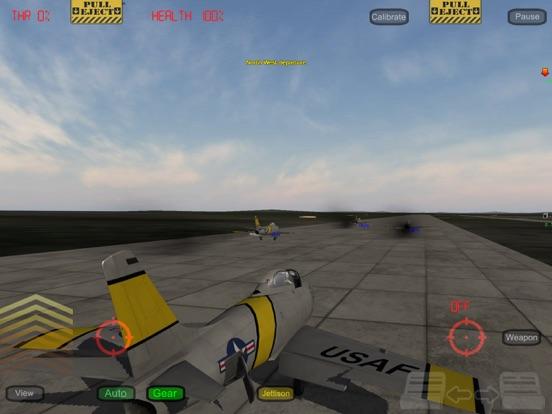 Screenshot #2 for GSIII - Flight Simulator - Heroes of the MIG Alley