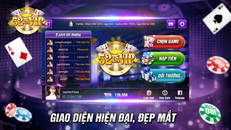 52 Lá VIP - Danh bai doi thuong, game bài đổi thưởng uy tín
