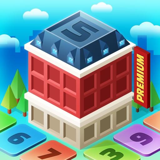 マイリトルタウン[ プレミアム] : 数字のパズルゲーム