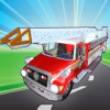 Fix My Truck: Red Fire Engine