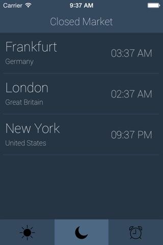 Forex Hours Pro screenshot 2